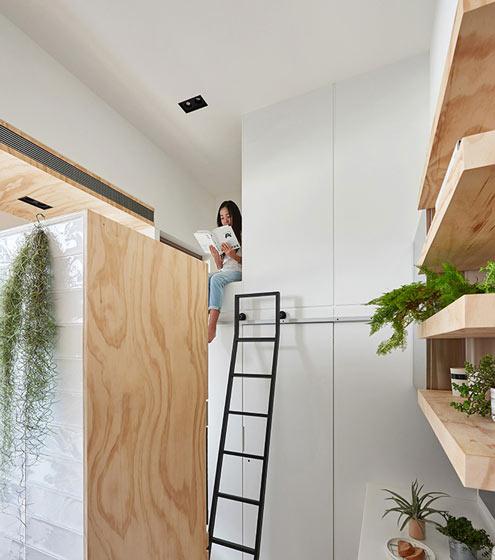 30平米错层迷你小屋儿童房装修效果图