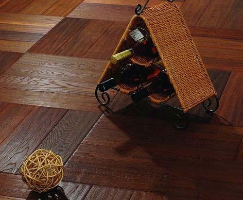 客厅地板装修效果图