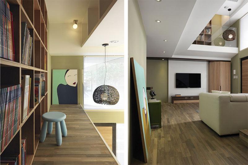自然风格客厅背景墙装修效果图