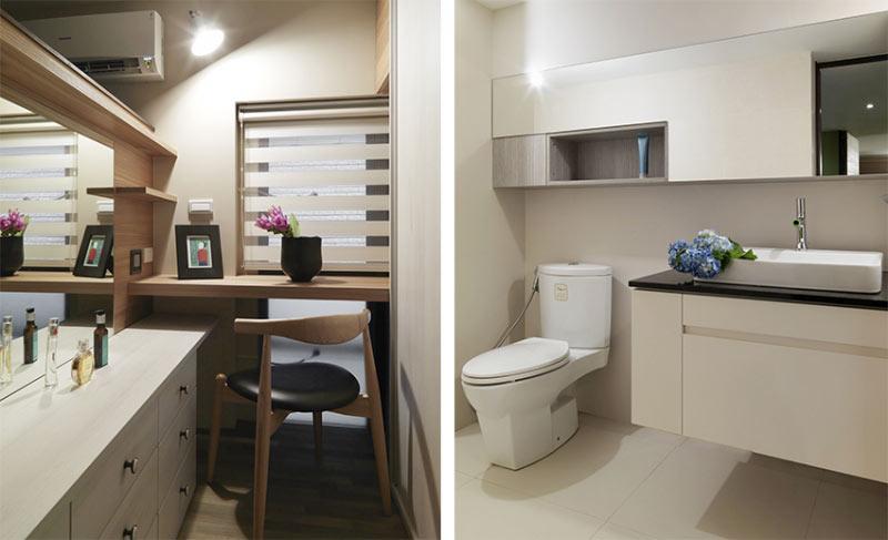 简约风格温馨白色卫生间装修效果图