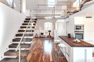60平阁楼公寓装修效果图