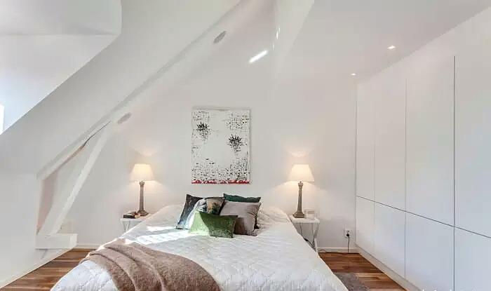 60平阁楼公寓卧室装潢设计