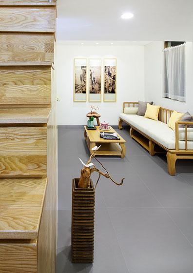 中式风格超小户型客厅装饰装修图片
