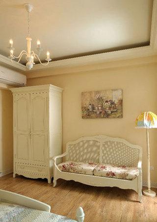 温馨法式乡村风卧室沙发装修效果图