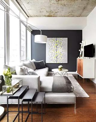 舒适小户型客厅装潢图