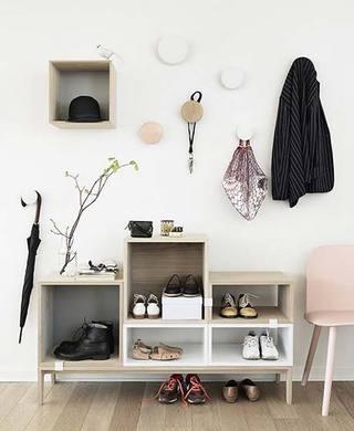 玄关鞋柜实景图