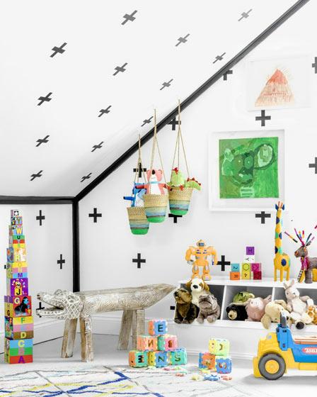 梦幻童话森林北欧风情儿童房设计欣赏_齐家网装修效果