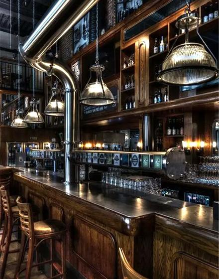 个性酒吧吧台效果图