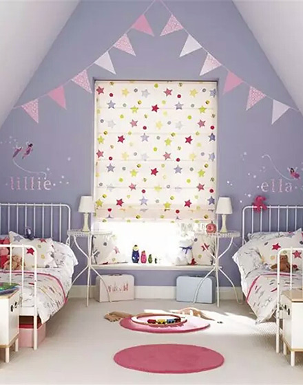 双人女孩卧室装修效果图