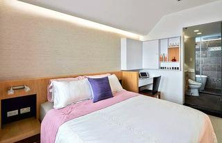 132平旧房改造卧室装修装潢