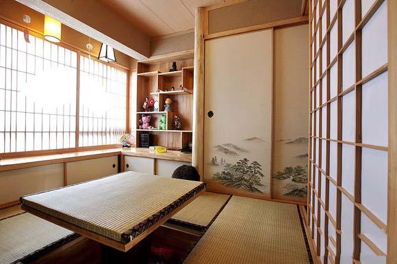 中式榻榻米装修装饰效果图