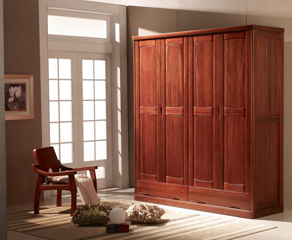 实木衣柜安装图步骤