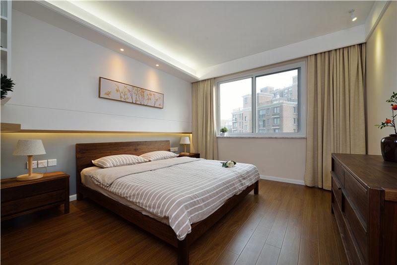 舒适宜家中式卧室效果图