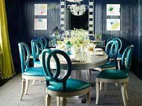 复古风来袭 10款餐厅装修装饰效果图