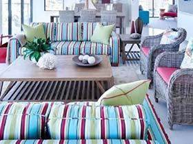 巧用缤纷色彩 7款客厅效果图