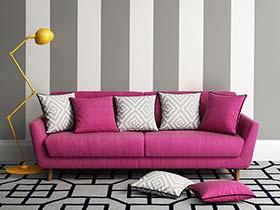 背后的精彩 10款沙发背景墙实景图