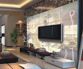 欧式电视背景墙装修图片