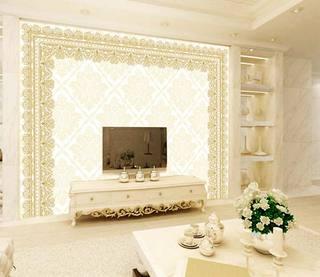 欧式电视背景墙设计图