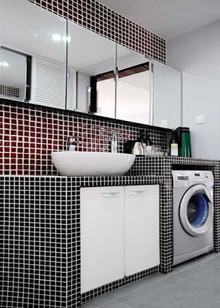 砖砌卫生间设计效果图片
