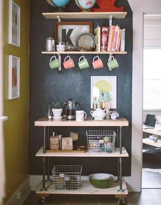 小户型家庭咖啡馆装修装潢