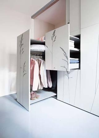 8平米单身公寓布置平面图
