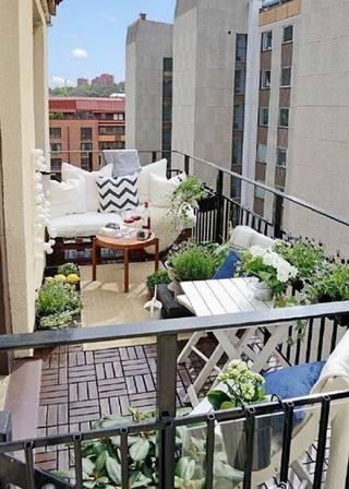 花园阳台装修装饰效果图