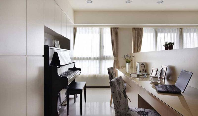 北欧风格二居室130平米装修效果图