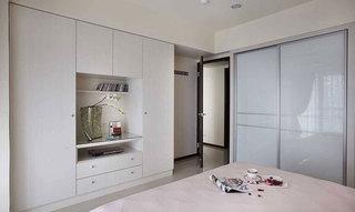 简约宜家风卧室衣柜设计