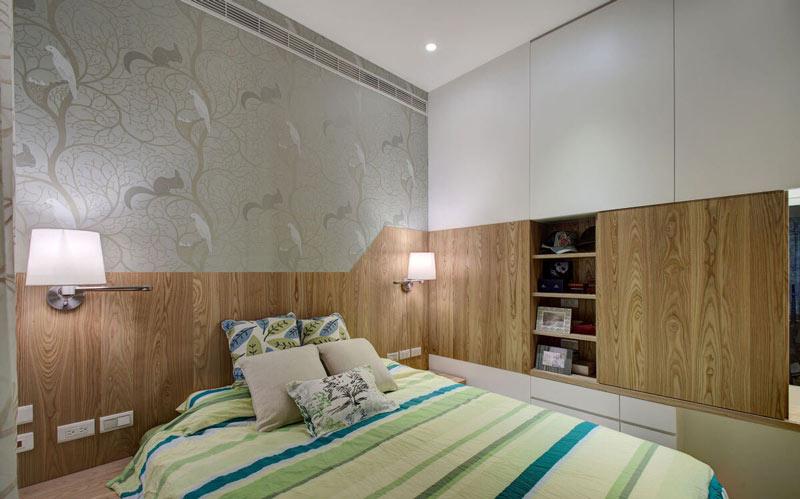 48平米小户型婚房卧室装修效果图