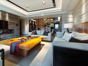 180平米中式风格公寓装修效果图 完美融合