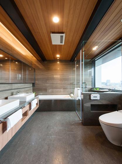 180平米中式混搭卫生间设计图片