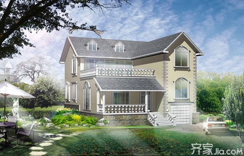农村盖房设计别墅这样设计有别墅的气质绿茵大兴花园别墅北京图片