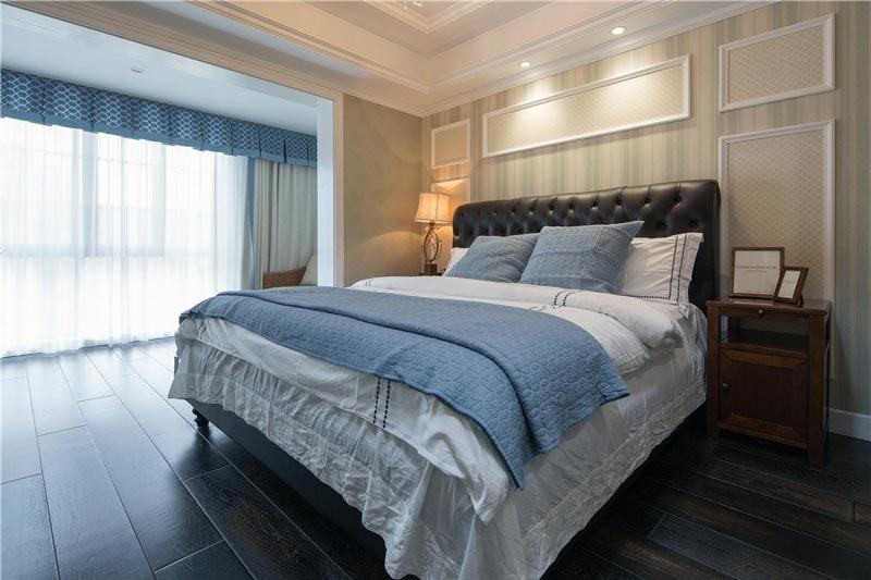 温馨舒适简欧风卧室装饰设计