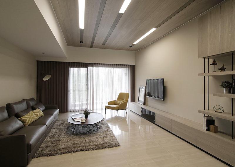 时尚现代简约风 客厅装饰效果图