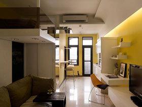 现代简约风格 30平小复式房装修