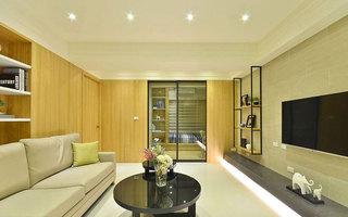 50平日式二居客厅设计效果图