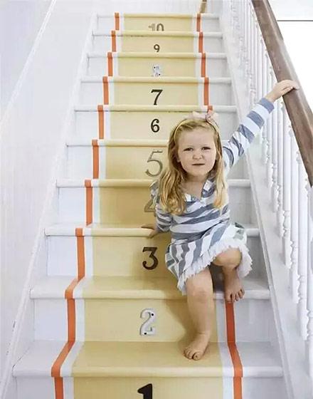 创意家庭复式楼梯设计