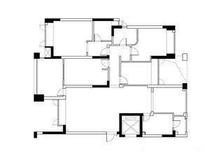 140㎡新中式房子户型图