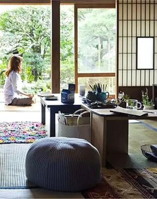 日式茶室榻榻米装潢设计