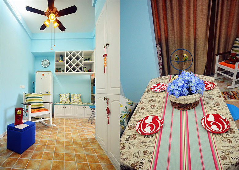 40平地中海风格家装修设计