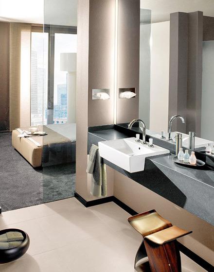 现代简约卧室卫浴间装修