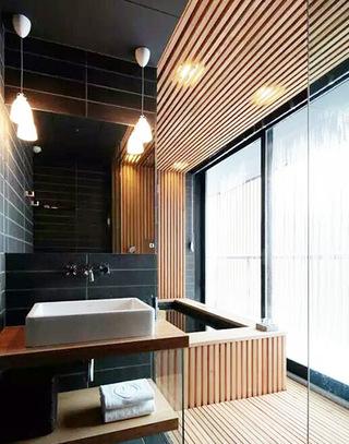 卫生间木质吊顶装修设计