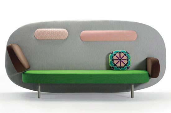 田园创意沙发装饰图