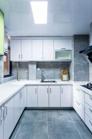 93平三室两厅北欧厨房效果图大全