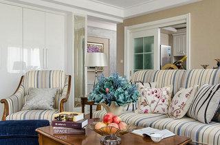 158平欧式古典风格客厅效果图