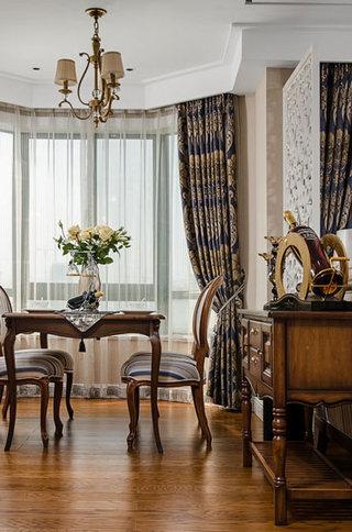 158平欧式古典风格餐厅吊顶设计装修