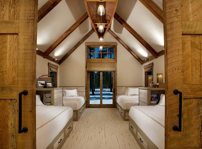 阁楼卧室设计效果图