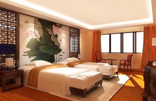 中式风格酒店装修效果图大全