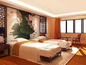中式风格酒店装修效果图