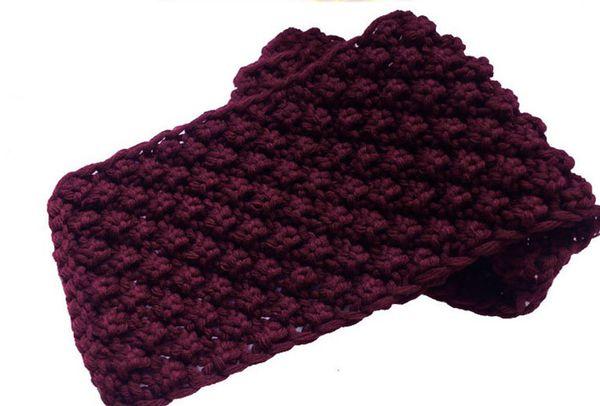 粗毛线围巾的织法 ,男士围巾织法,情人网围巾织法,鱼骨针的织法